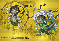 Wind God & the Thunder God