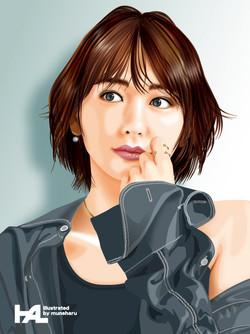 Aragaki Yui_illustration