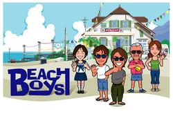 BEACH BOYS CHARA