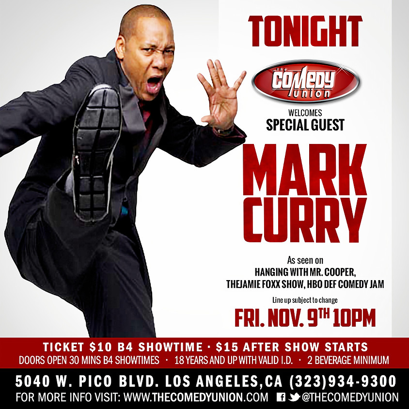 Laugh with Friends FRIDAY - 10:00 w/Celebrity Guest Mark Curry