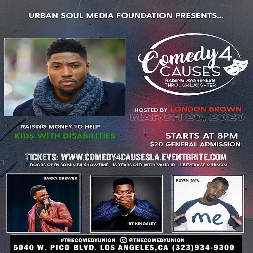 *SPECIAL EVENT* COMEDY 4 CAUSES - 8:00 PM