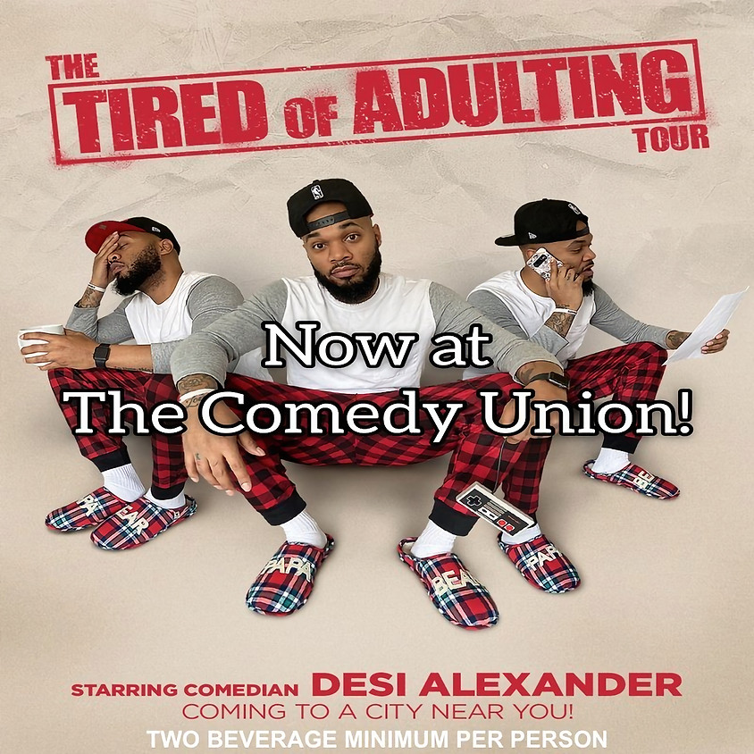 *SPECIAL EVENT* DESI ALEXANDER Comedy Show - 8:00 PM