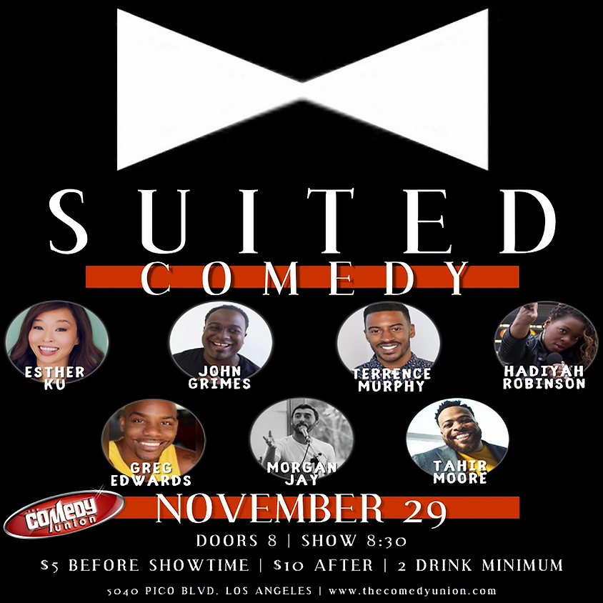 SUITED COMEDY - 8:30 PM