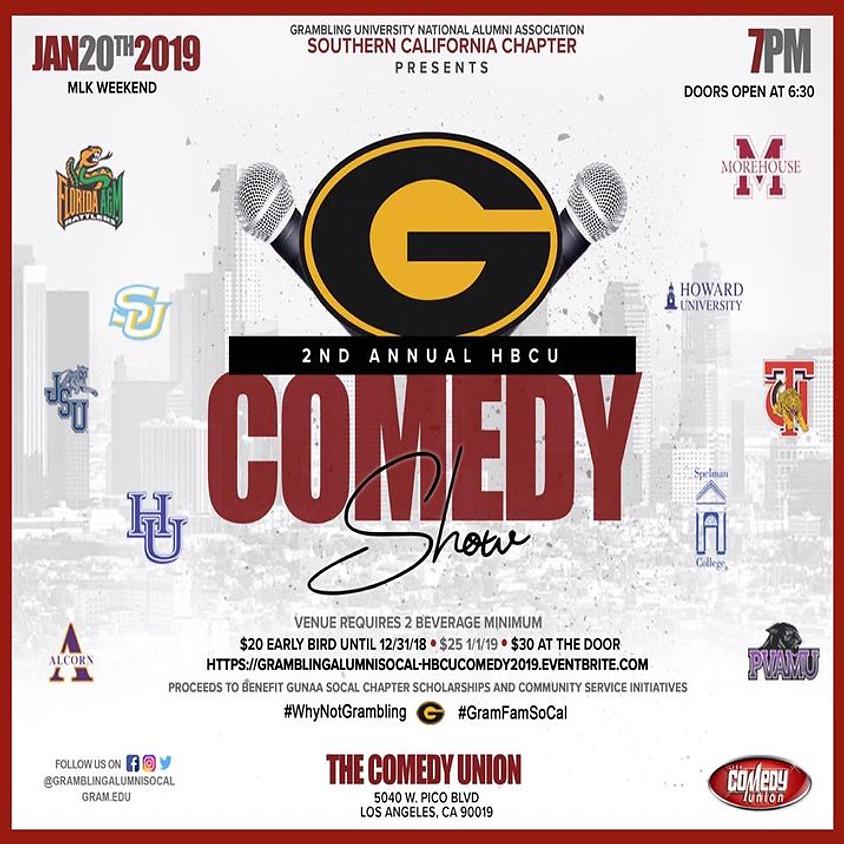 2nd Annual Grambling Alumni SoCal Chapter HBCU Comedy Show - 7:00 PM