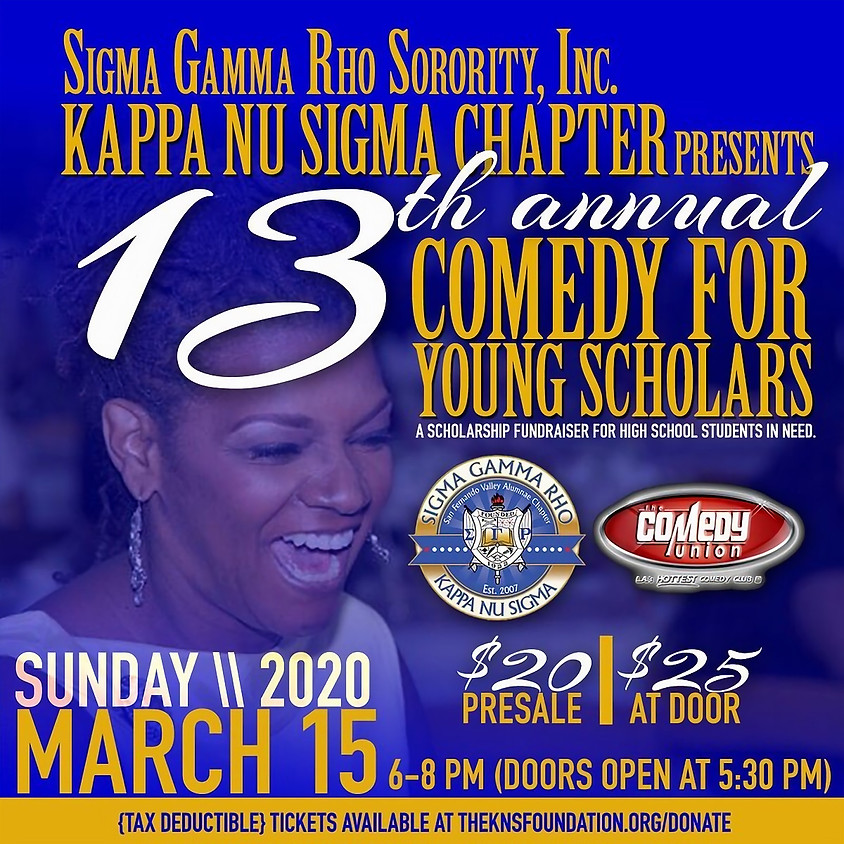 (ALL SHOWS ARE NOW CANCELLED THOUGH & INCLUDING THIS SUNDAY 3/15) - YOUNG SCHOLARS - 6PM