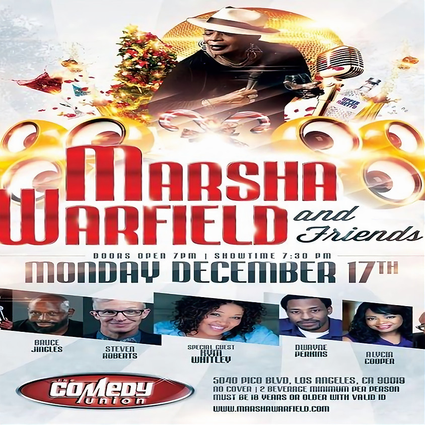 *SPECIAL EVENT* MARSHA WARFIELD & Friends Comedy Show - 7:30 PM
