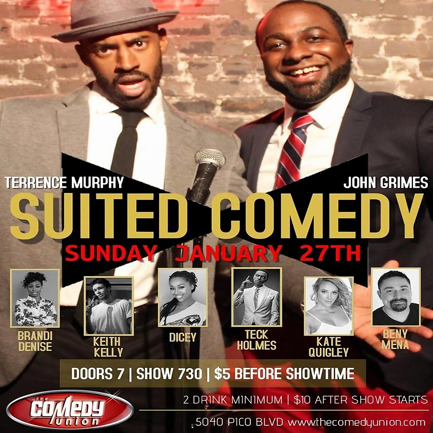 SUITED COMEDY - 7:30 PM