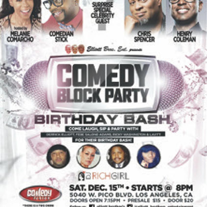 *SPECIAL EVENT* Elliott Bros. Ent. presents COMEDY BLOCK PARTY - 8:00 PM