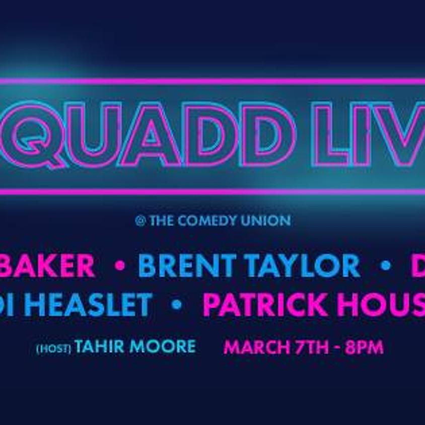 ALL DEF DIGITAL presents SQUADD LIVE 8:00 PM