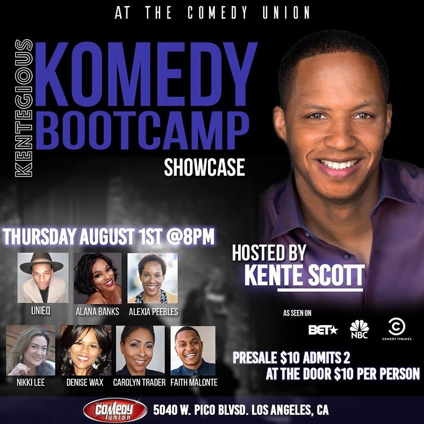 *SPECIAL EVENT* Kentegious Komedy Bootcamp Summer Session Showcase - 8:00 PM