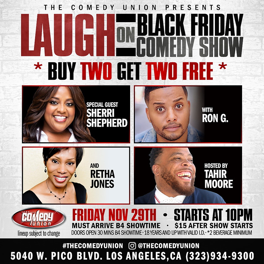 Laugh with Friends FRIDAY - 10:00 PM