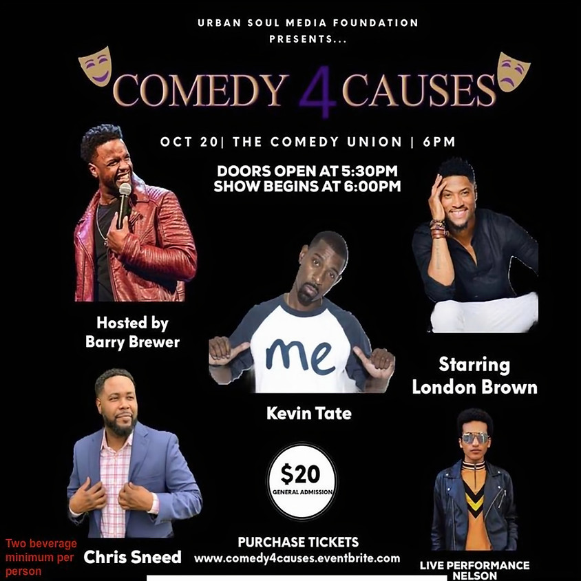 *SPECIAL EVENT* COMEDY 4 CAUSES - 6:00 PM