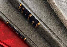 Encadernação manual de livros