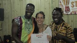 Babara Bangoura e Sekouba Oulare