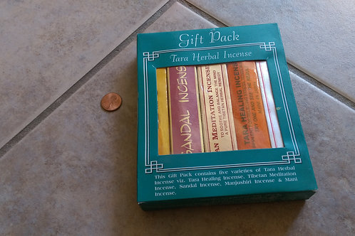Herbal Incense Gift Pack (5 Pack)