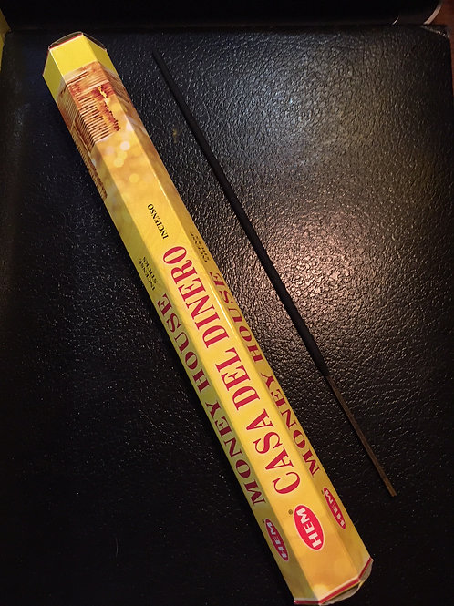 Money House Incense (20 sticks)