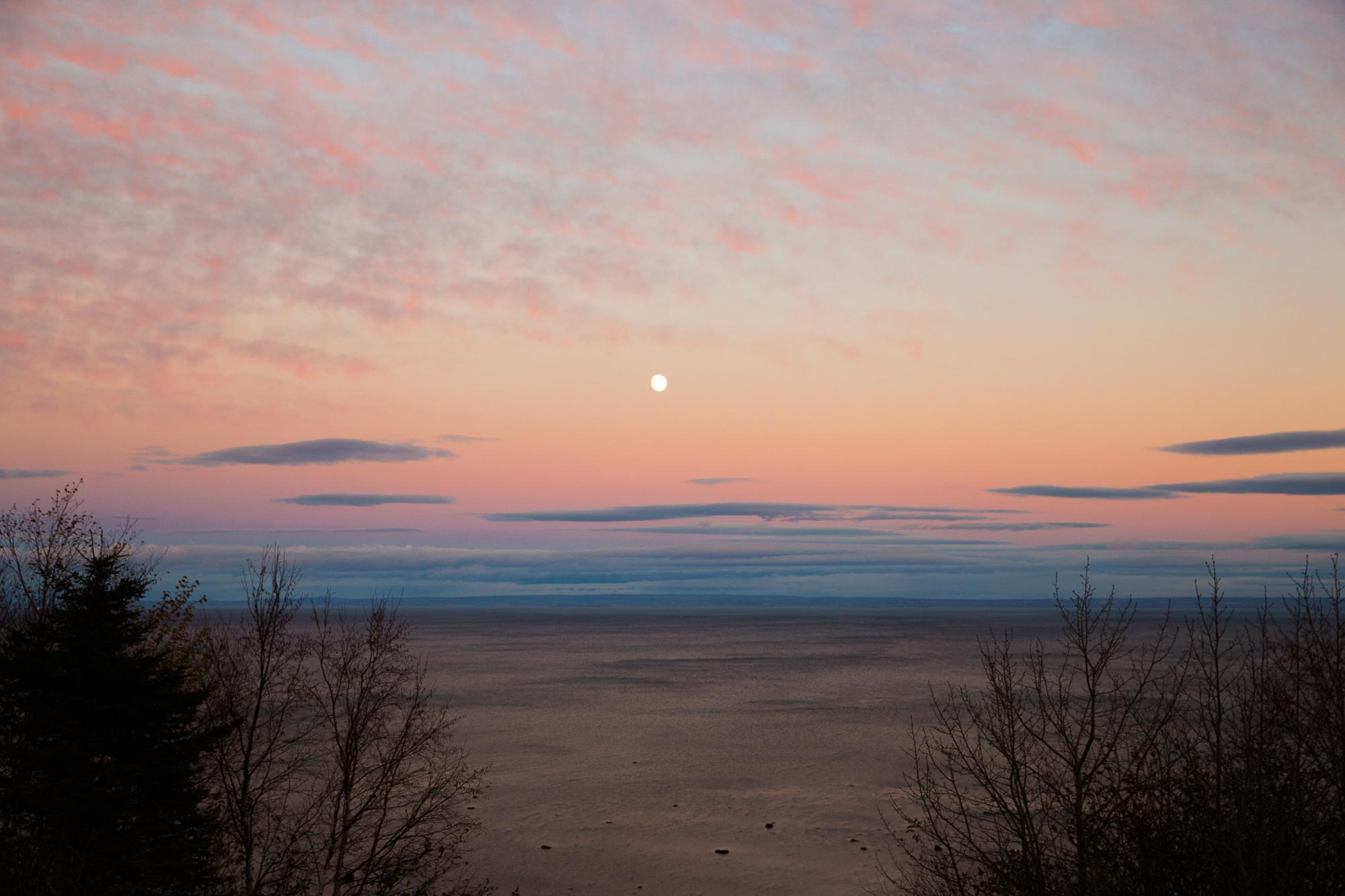 Nature Mer sunset Canada
