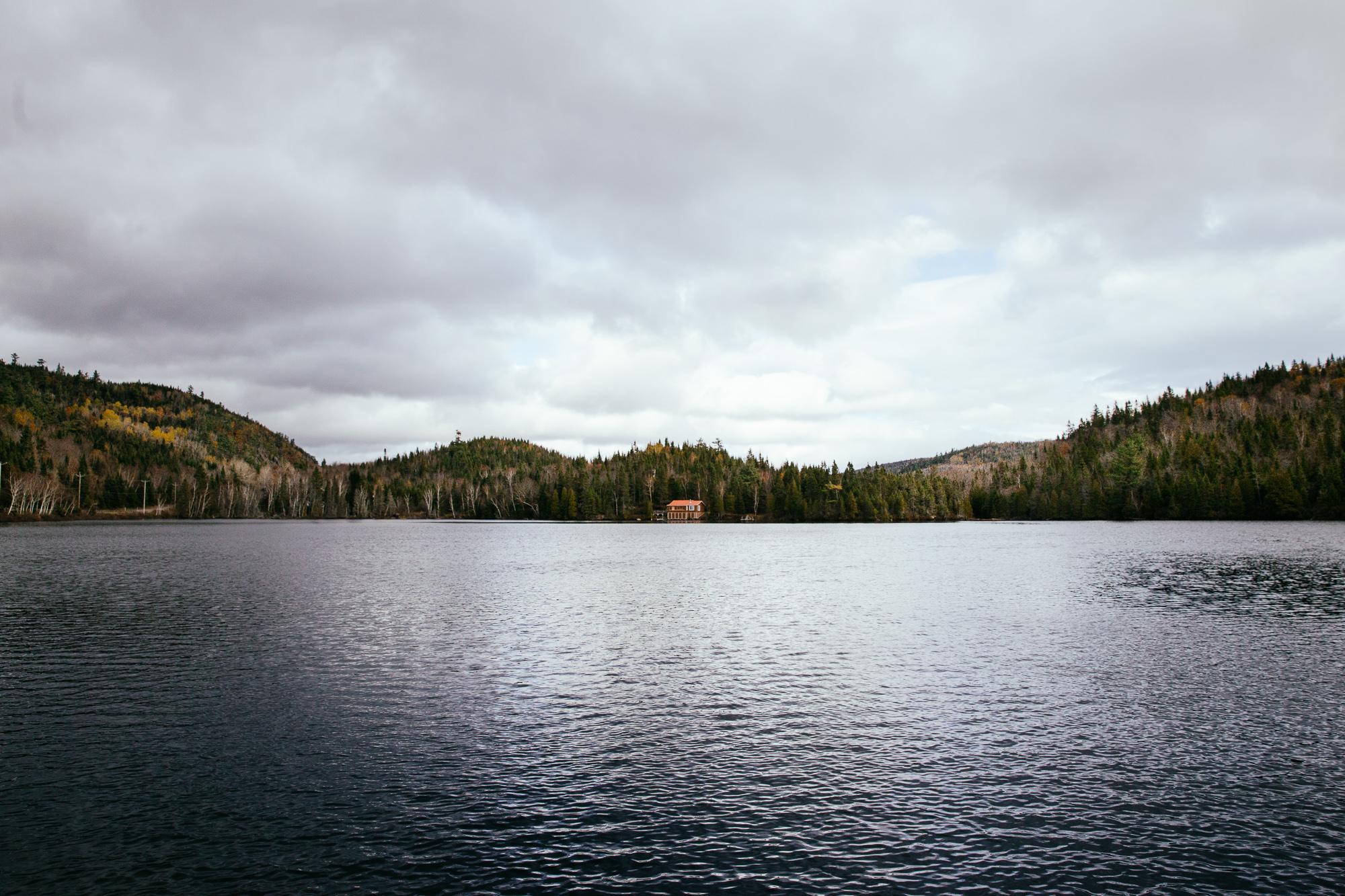 Nature forêt Canada lac