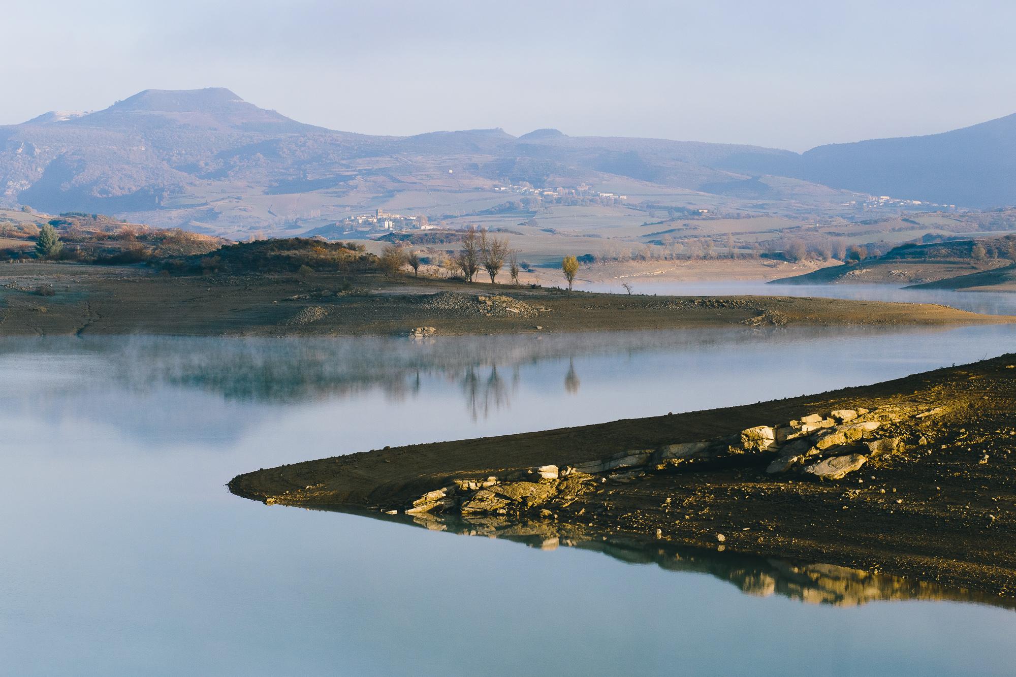 Nature lac Espagne