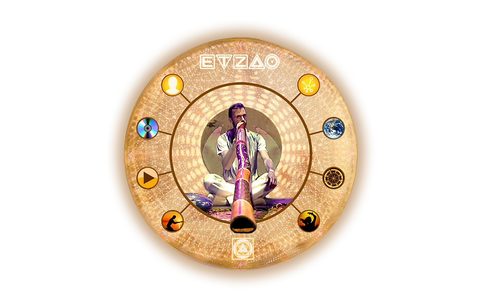 ETZAO Accueil Didgeridoo Tambour Menu
