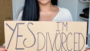 Yes I'm divorced, no it doesn't define me