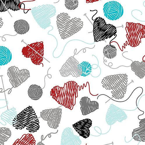 Yarn Balls N Hearts