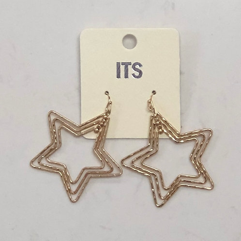 Multi Star Earrings