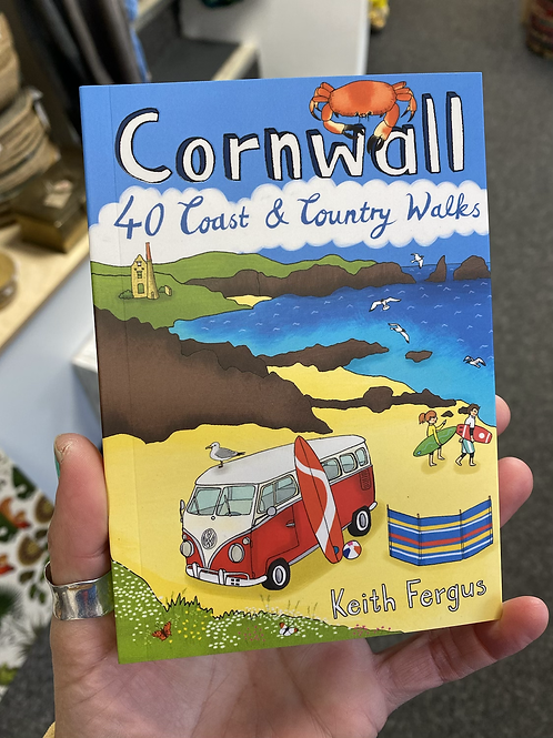 Cornwall walks book