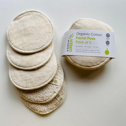Organic Cotton Facial Pads