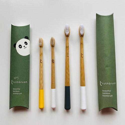 Truthbrush bamboo toothbrush