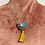 Thumbnail: Stella and Wolf necklace with tassel
