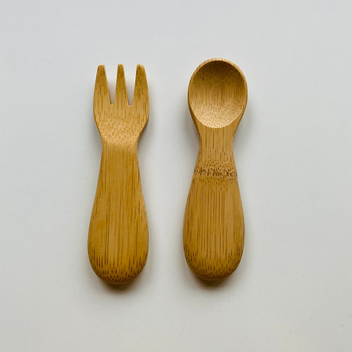 Baby's Fork and Spoon