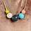 Thumbnail: Stella and Wolf wooden bead necklace