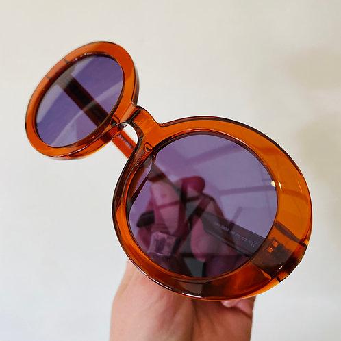 Romona Danish Brown Sunglasses