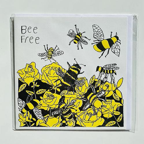 Bee Free Card