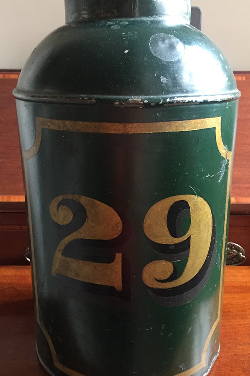 19th Century Toleware tea canister          £120