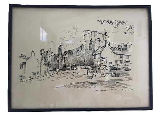 Fred Lawson Sketch - Middleham £110