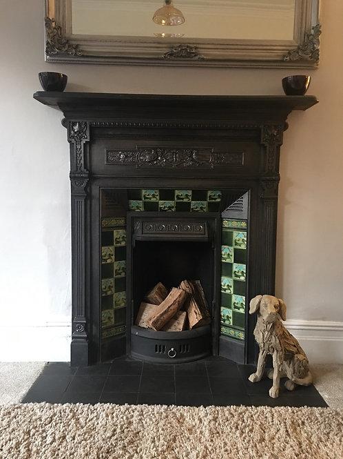 Cast Iron fireplace £425