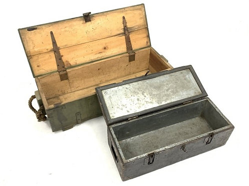 WW Ammunition Boxes         £55 and £65