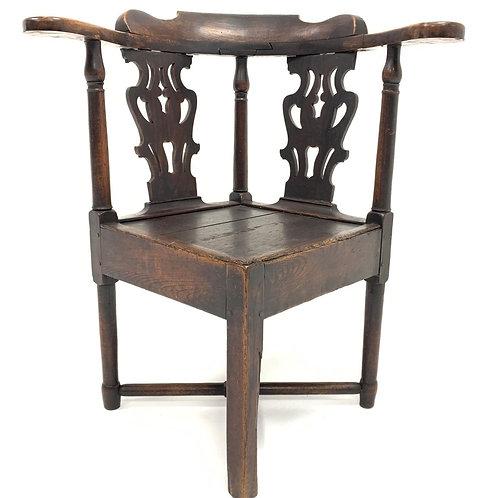 18th Century Oak Corner Chair   £345.00
