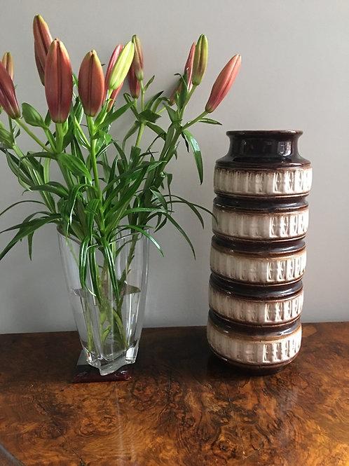 West German pottery vase   £55