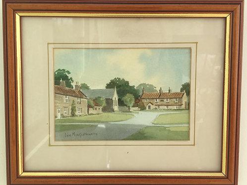 Yorkshire Village Scene - Levisham  £18