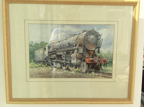 Steam Locomotion Watercolour  £58.00