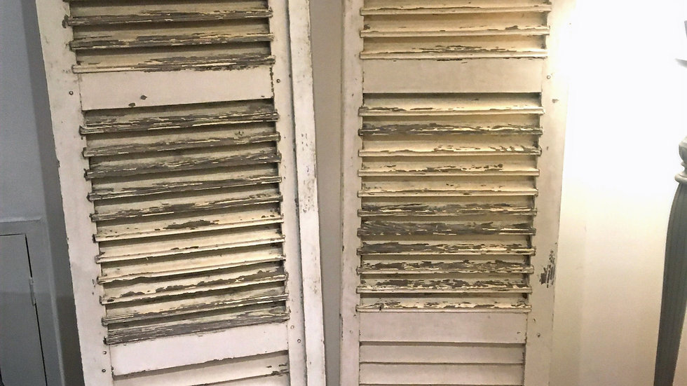 French Vintage Shutters