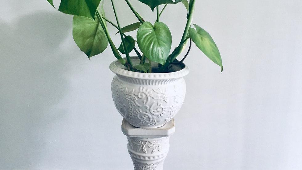 German pottery jardiniere