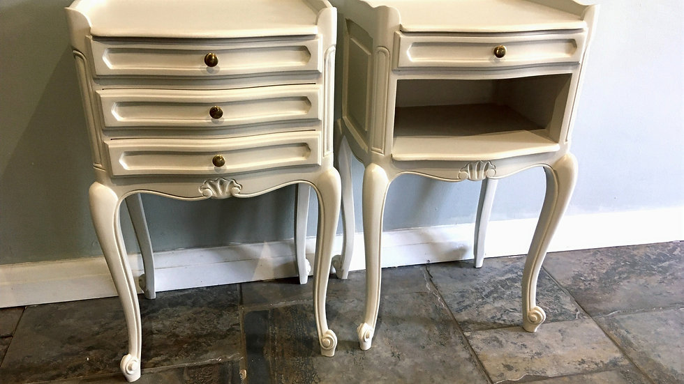 Pretty French Bedsides