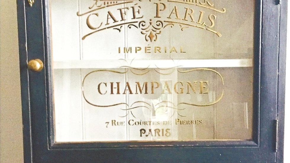 Champagne Cabinet