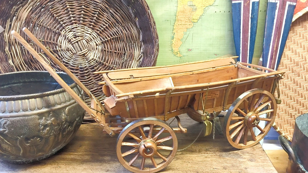 Broad-wheeled Sussex Waggon