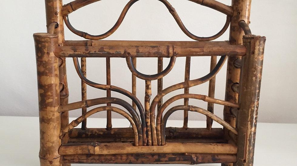 Vintage Bamboo Letter rack