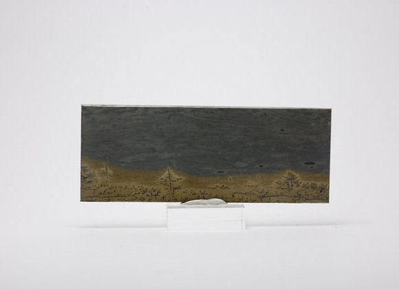 Plaque marbre paysagé 04
